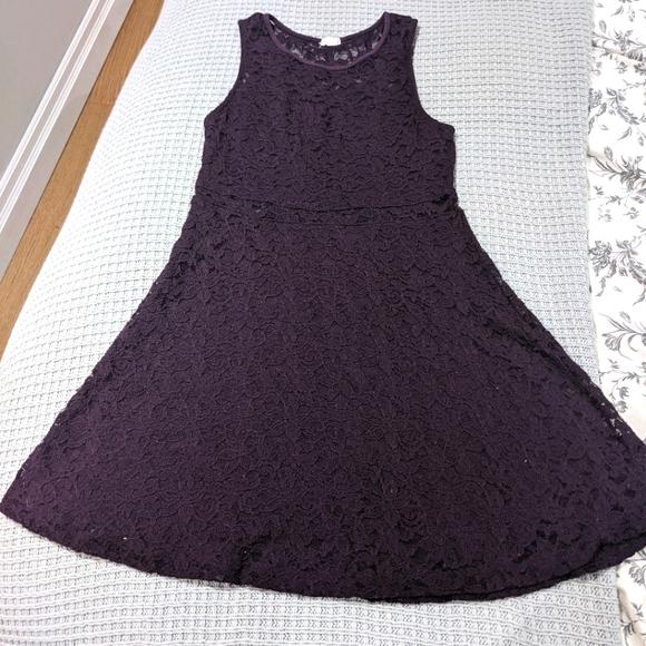 Purple Lace Mini Dreas